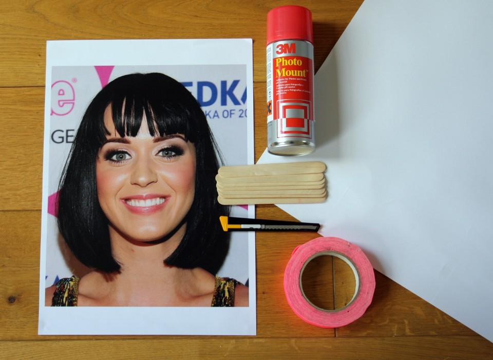 Celebrity mask materials